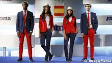 Olympische Spiele Eröffnungszeremonie-Einkleidung Spanien
