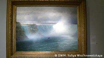 Картина Айвазовского Ниагарский водопад