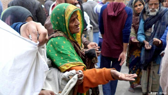 Indien muslimische Bettler in Indien (DW/J. Akhtar)