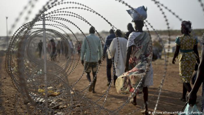 Base da ONU em Juba