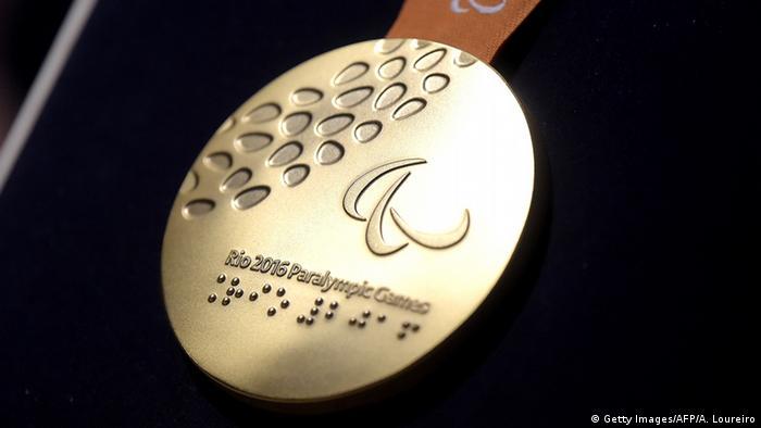 Золотая медаль Паралимпиады в Рио-де-Жанейро