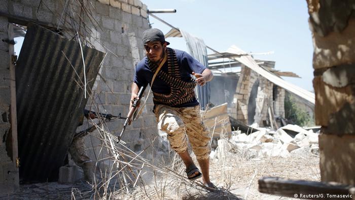 Libyen Angriff libyscher Streitkräfte auf IS in Sirte
