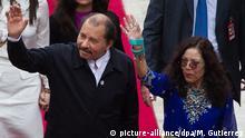 Daniel Ortega und Rosario Murillo