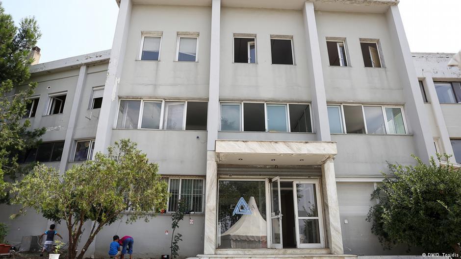 Eine neue Flüchtlingsunterkunft in Thessaloniki
