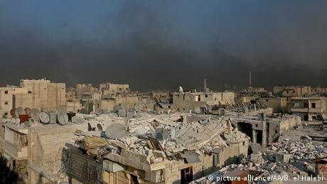 Syrien - Rebellenangriffe in Aleppo