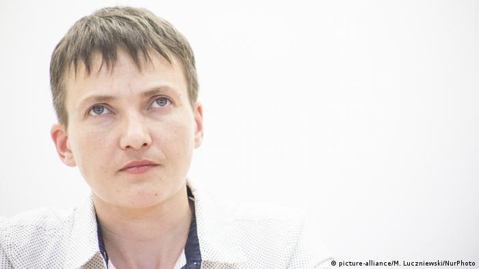 Розслідування щодо Надії Савченко завершено