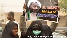 Nigeria Demo für die Freilassung von Ibraheem Zakzaky