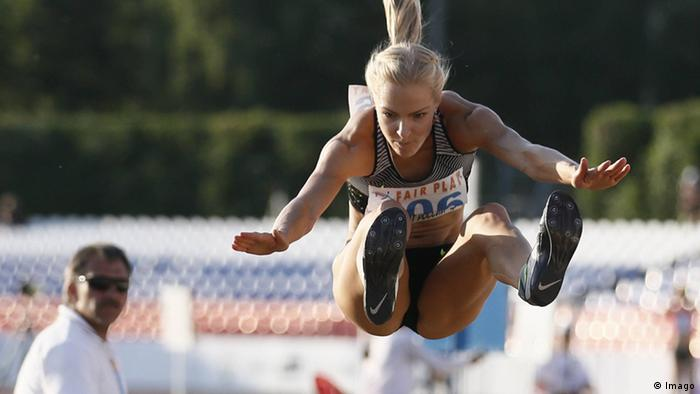 Leichtathletin Darya Klishina, Russland