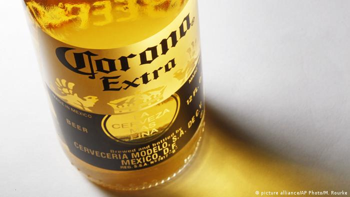Mexiko Bier Corona (picture alliance/AP Photo/M. Rourke)