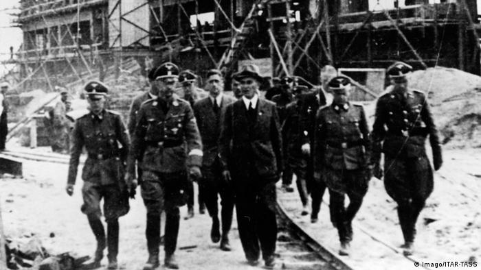 Heinrich Himmler besucht Kontzentrationslager Dachau