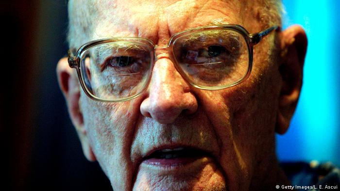 Author Arthur C. Clarke, Copyright: Getty Images/L. E. Ascui