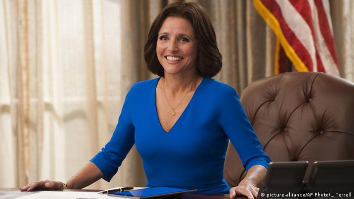 Julia Louis-Dreyfus in 'Veep' - Copyright: picture-alliance/ AP Photo /L. Terrell