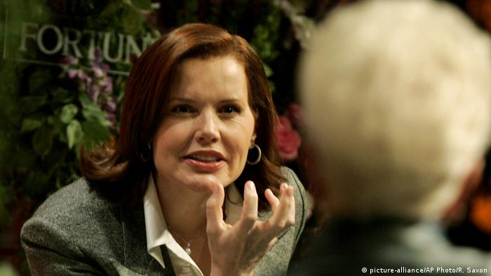 Geena Davis in 'Commander in Chief', Copyright: picture-alliance/AP Photo/ R. Saxon