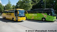 Deutschland Postbus und Flixbus in Hamburg