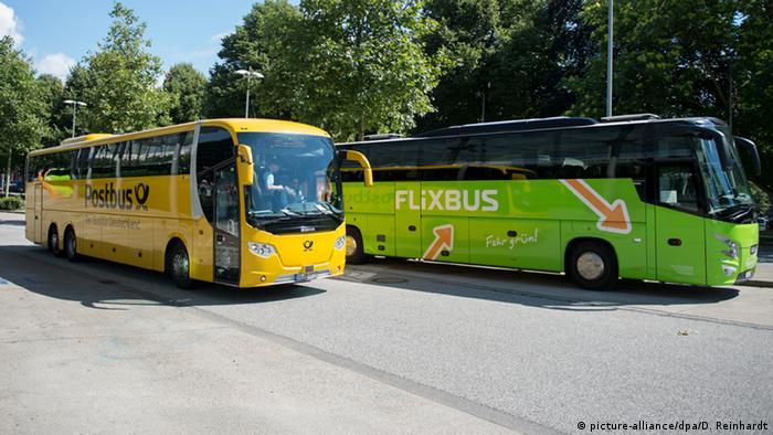 Postbus, Flixbus, Deutsche Post