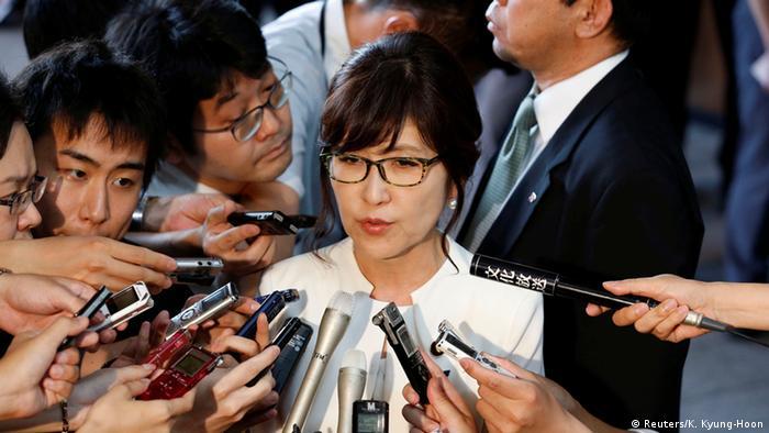 Japan Tomomi Inada Verteidigungsministerin