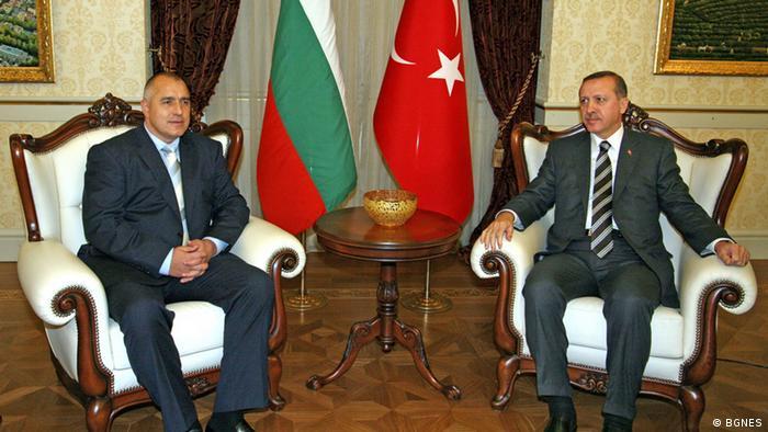 Bulgarien Recep Tayyip Erdogan und Bojko Borissow