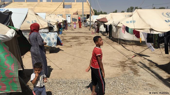 Flüchtlingslager Debaga Nordirak (DW/G. Matthes)