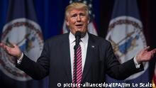 USA Republikaner Donald Trump in Ashburn