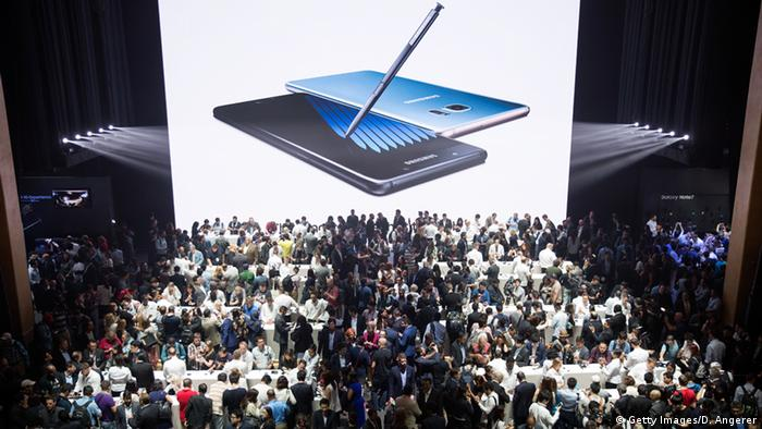 Samsung Galaxy Note 7 launch event