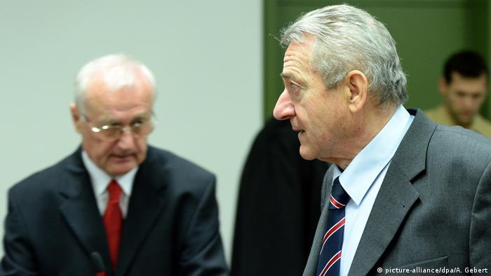 Deutschland Josip Perkovic und Zdravko Mustac in München (picture-alliance/dpa/A. Gebert)
