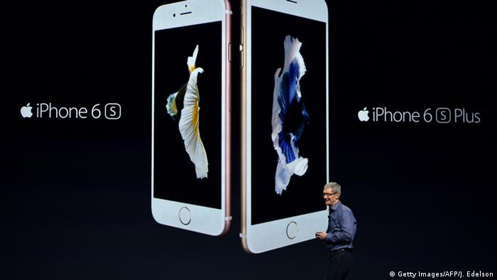 Apple iPhone 6s and 6s Plus (Getty Images/AFP/J. Edelson)