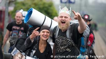 Metal-Train zum Wacken Open Air (picture-alliance/dpa/D. Reinhardt)