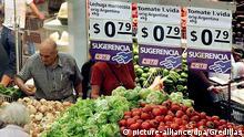 Argentinien Obst Gemüse Preise Peso 2002