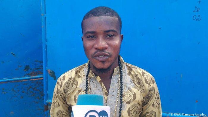 Mawaki mai fafutukar kare muhalli a Nijar Malam Ousmane Abdourahmane