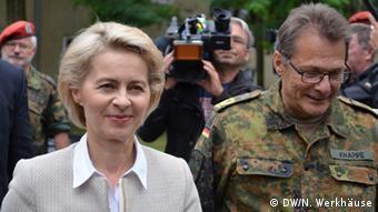Η Ούρσουλα φον ντερ Λάιεν προτείνει ευρωπαίους αξιωματικούς για την Bundeswehr