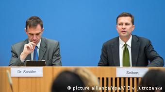 Мартин Шефер (слева) и Штеффен Зайберт