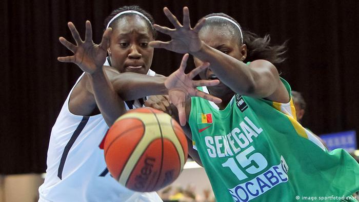 Senegal womens basketball team