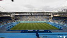 Olympische Spiele Rio de Janeiro leeres Stadion beim Fußballspiel Schweden gegen Südafrika