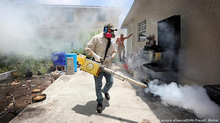 USA Zika Ausbruch in Miami (picture alliance/ZUMA Press/E. Michot)