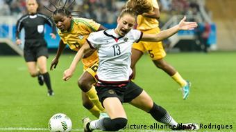 Olympische Spiele Frauenfussball Deutschland vs. Simbabwe (Foto: picture-alliance/dpa/J. Rodrigues)