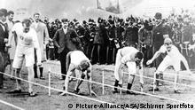 Olympische Spiele 1896 in Athen - 100m-Lauf