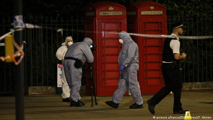 Großbritannien Messerattacke in London (picture alliance/ZUMA Press/T. Akmen)