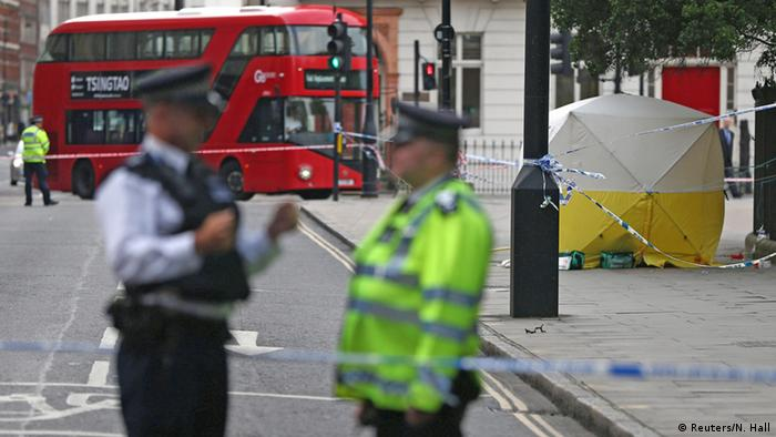 Großbritannien Messerattacke in London