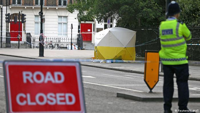 Großbritannien Messerattacke in London