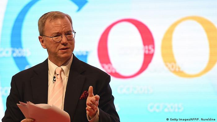 Eric Schmidt steps down as the Executive Chairman of Alphabet