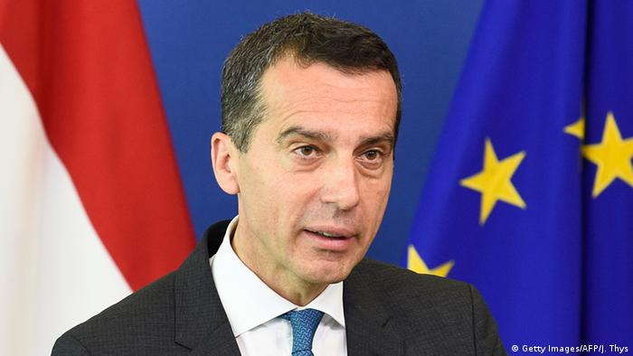 Christian Kern (Getty Images/AFP/J. Thys)