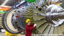 Deutschland Gasturbinenwerk Siemens in Berlin