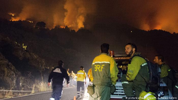 Spanien Brände in La Palma