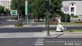 Πιο ανθρώπινοι δρόμοι στο εξής στη Μαδρίτη