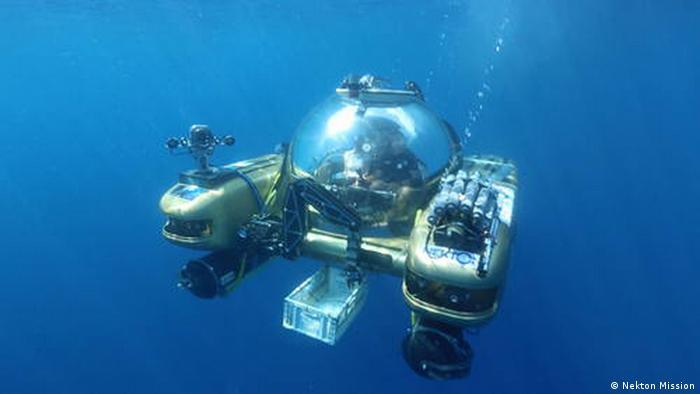 Nekton Mission submersible Photo: Nekton Mission