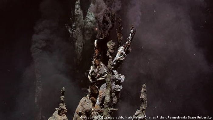 Weltnaturerbestätten in der Hochsee - Hydrothermaler Schlot in der hohen See