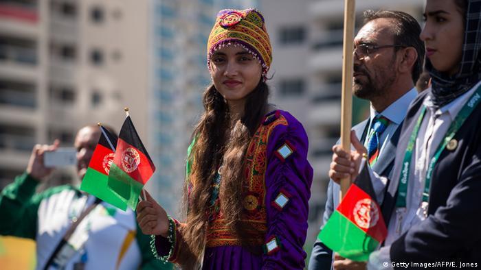 Afghanistan Olympische Spiele Rio de Janeiro 2016 (Getty Images/AFP/E. Jones)
