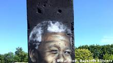Berliner Mauer Vicor Landeta, Mauerbilder von Friedensnobelpreisträgern