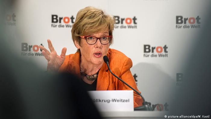 Cornelia Füllkrug-Weitzel, Präsidentin von Brot für die Welt (Foto: dpa)