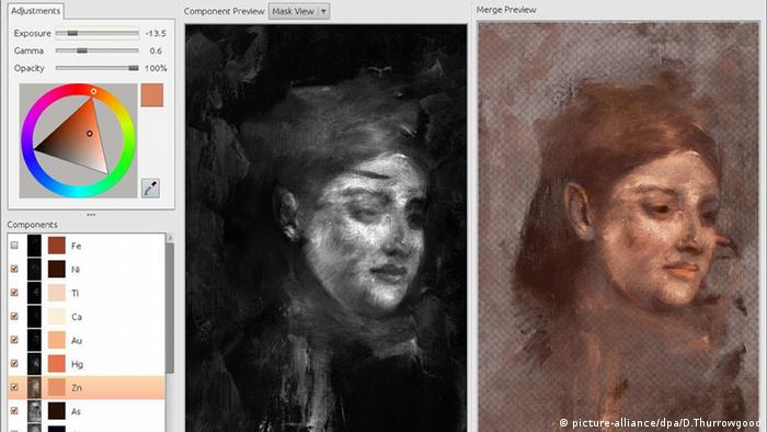 Degas Gemälde Studie Rekonstruktion Technik